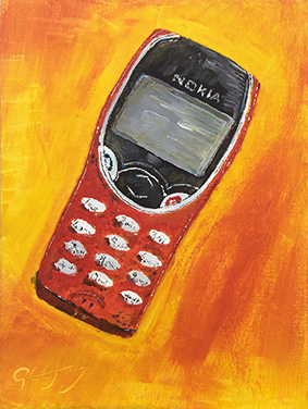 GeeJay When Nokia Ruled The World: 8210